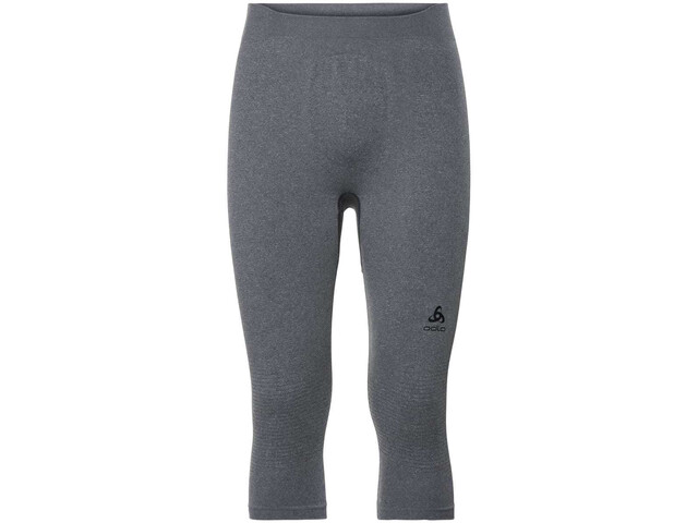 Odlo Suw Performance Warm 3/4 Bottom Pants Herren grey melange/black